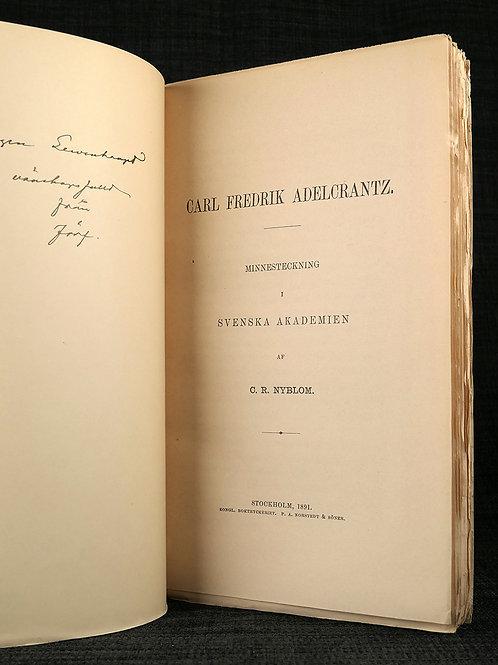 Nyblom: Carl Fredrik Adelcrantz