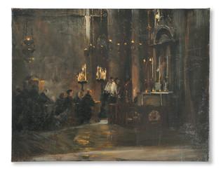 Oscar Björck - Vesper i Markuskyrkan - (sold)