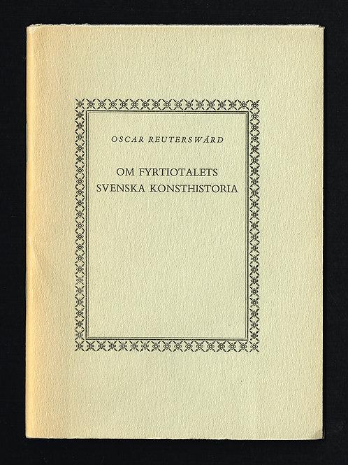 Oscar Reuterswärd - Ett av 100 ex.