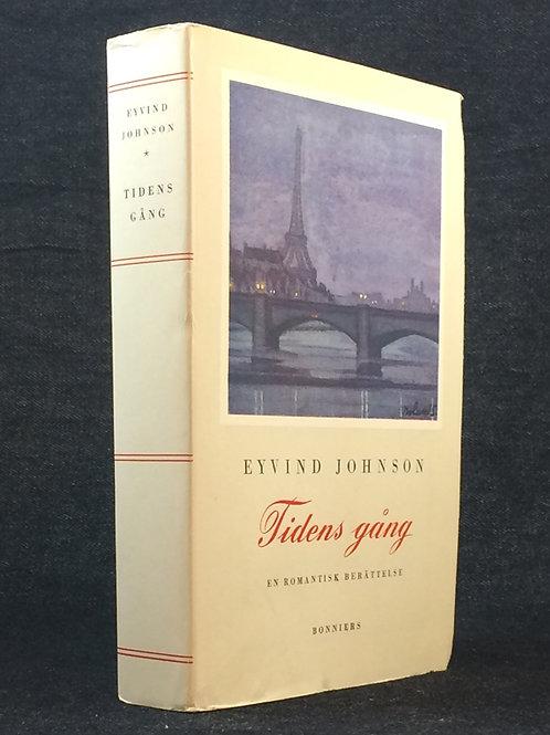 Johnson: Tidens gång, dedikation till Alf Henrikson