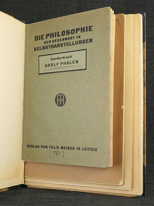 Adolf Phalén: 4 särtryck