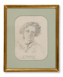 Carl Wahlbom (1810–) - Självporträtt