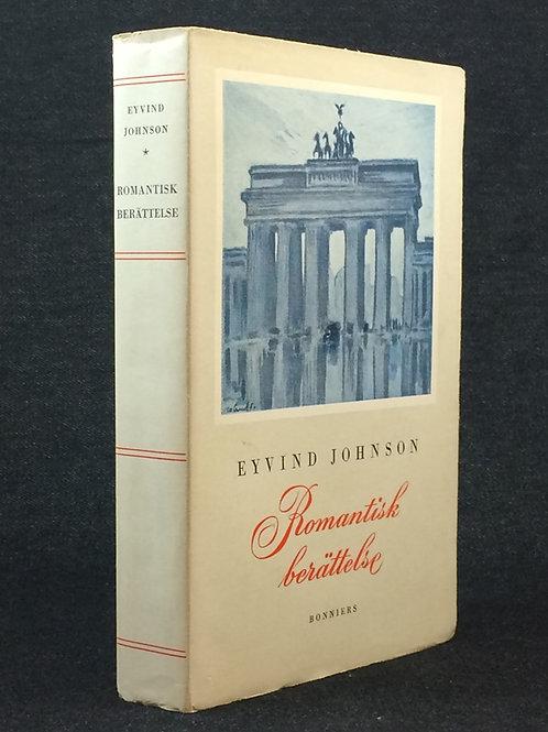 Johnson: Romantisk berättelse, dedikation till Alf Henrikson