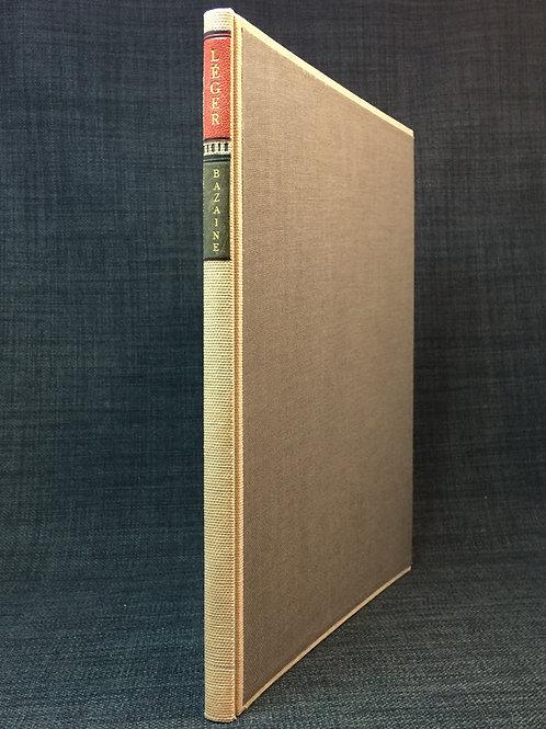 Bazaine: Léger. Peintures antérieures a 1940