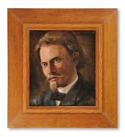 Karl Nordström (1855-1923) - Självporträtt