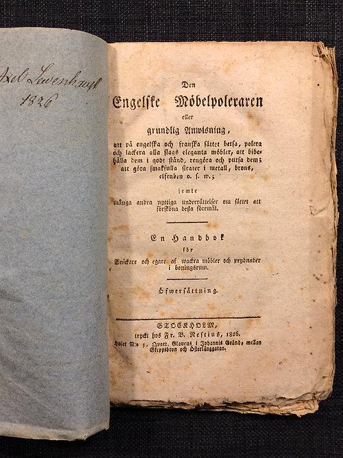 Den engelske möbelpoleraren, 1826