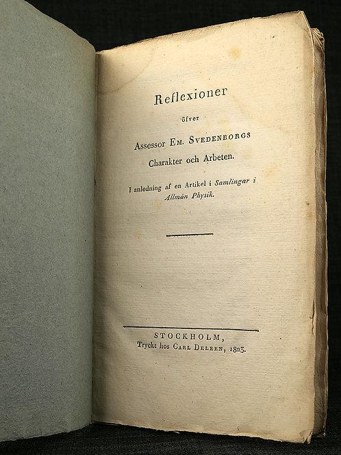 Tybeck: Swedenborg, 1823