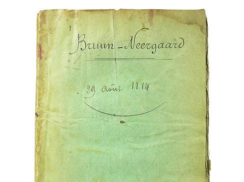 Catalogue raisonné du cabinet de Mr. Bruun-Neergaard