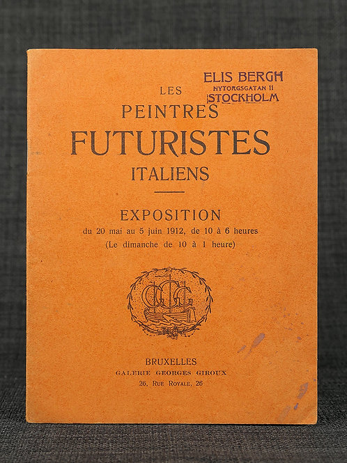 Peintres futuristes Italiens, 1912