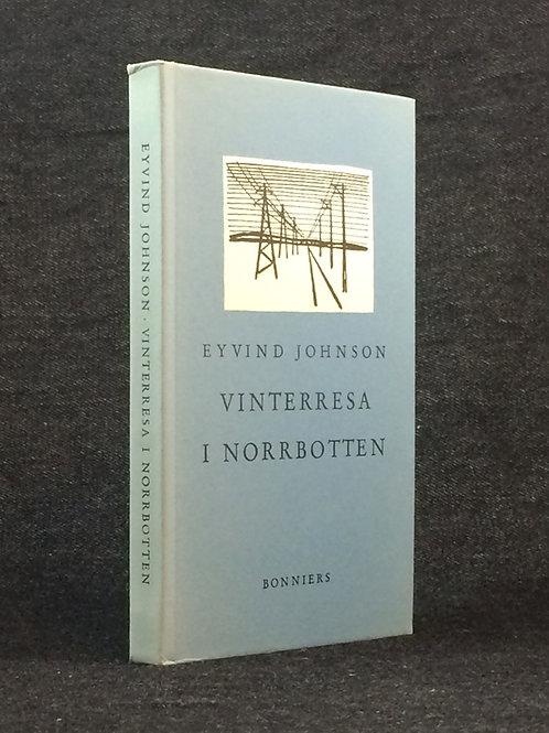 Johnson: Vinterresa i Norrbotten, dedikation till Alf Henrikson
