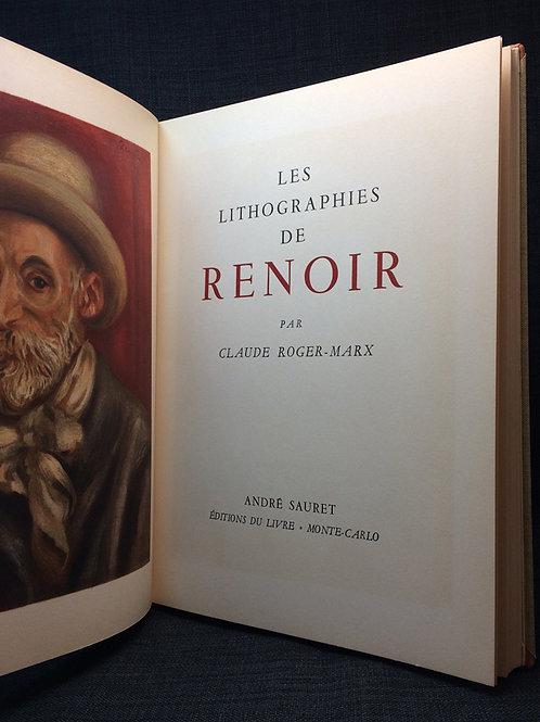 Les Lithographies de Renoir