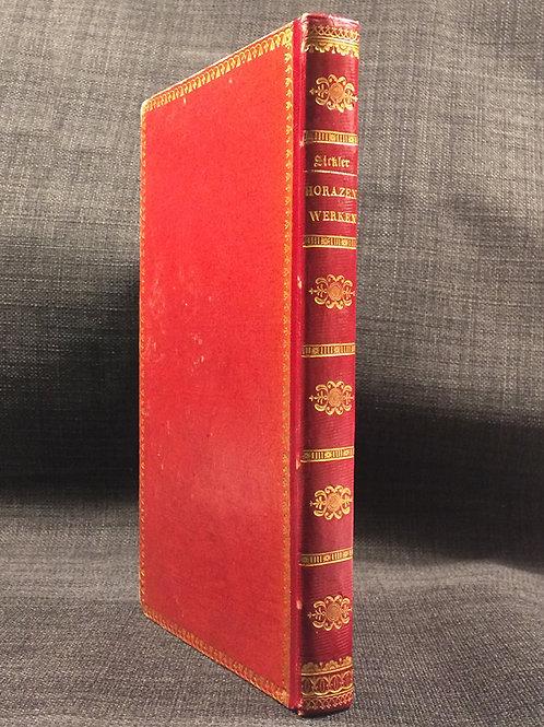 Bilder zu Horazens Werken, 1829 a