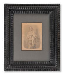 Johan Fredrik Höckert (1826–1866) - Orsakullan Wiks Katri bärande sitt barn till dopet