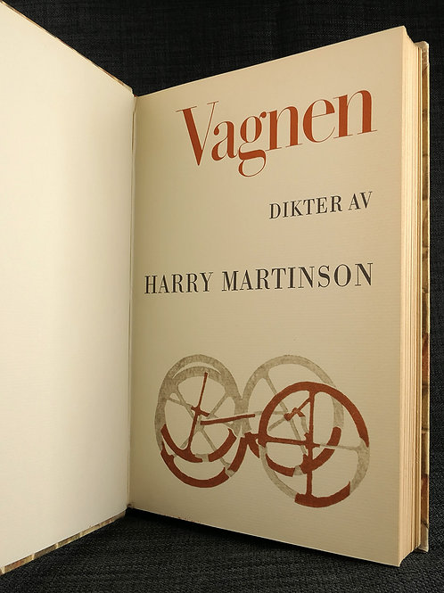 Harry Martinson: Vagnen, band av Welinder