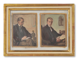 Nils Asplund (1874-1958) - Konsthistorikern Johnny Roosval (1879-1965) - (sold)
