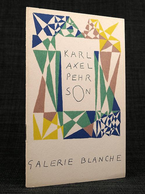Karl Axel Pehrson - Litograferat omslag