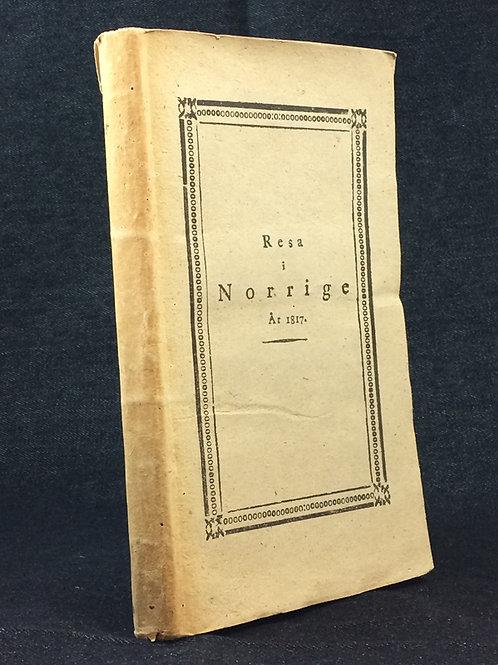 Fölsch: Resa i Norrige år 1817.