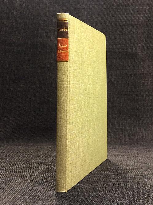 Eklund: Gustave Courbet, författarens exemplar