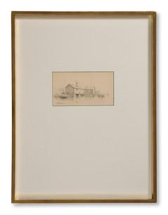 Carl Flodman (1863–1888) - Motiv från Vaxholm