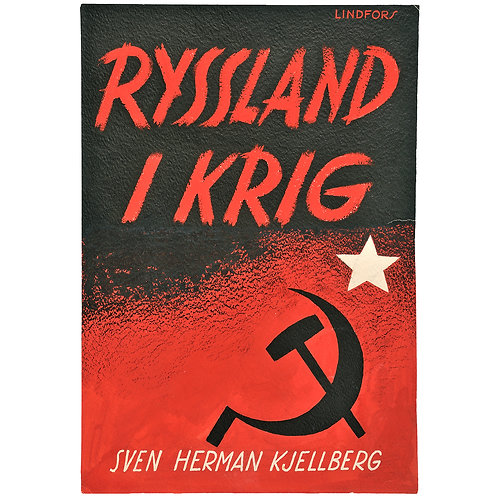 Vicke Lindstrand: Original för bokomslag