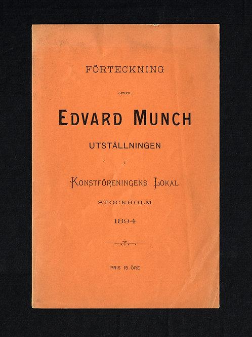 Edvard Munch, 1894