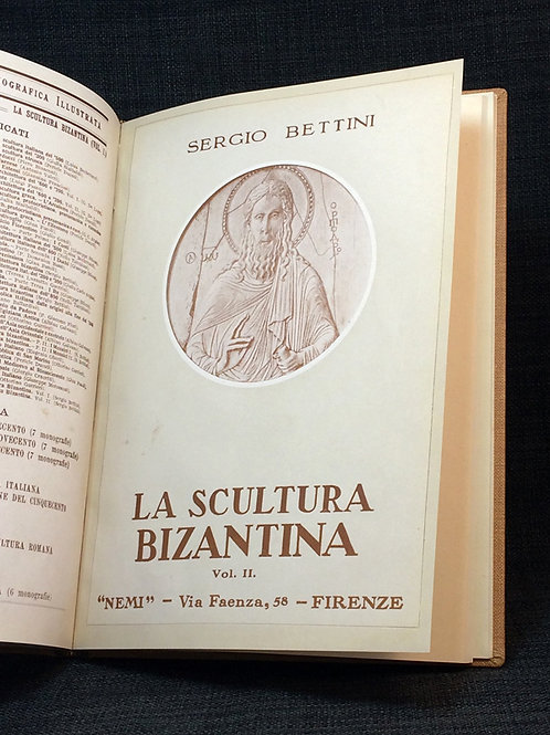Bettini: La scultura bizantina