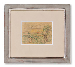 Otte Sköld (1894-1958) - Fontainebleau - (sold)