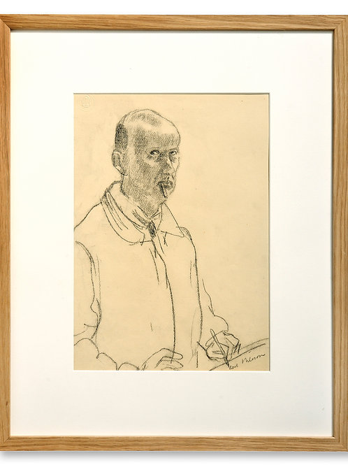 Axel Nilsson: Självporträtt
