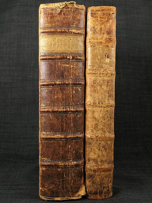 Tegnérs exemplar av Heimskringla (1697-1700)
