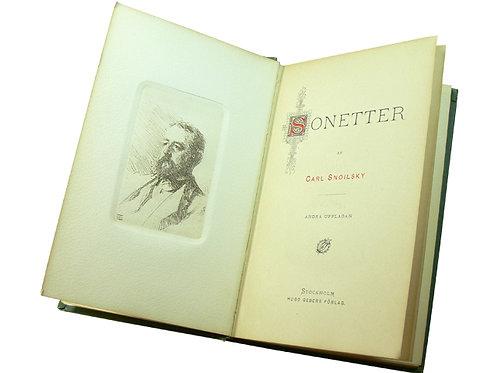 Med etsning av Zorn, 1888
