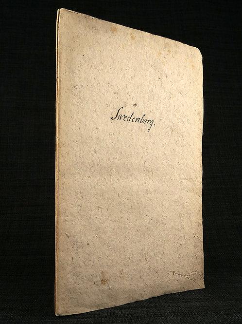 Sandel: Swedenborg, 1772