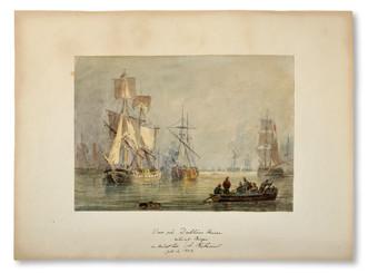 Johan Christian Berger (1803-1871) - Vue på Dublins Rivier