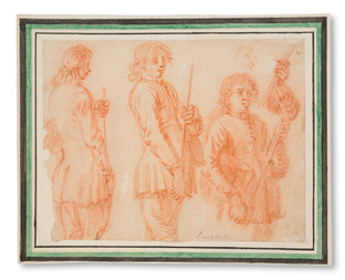 Johann Philip Lemke (Nürnberg 1631–Stockholm 1711) - Karolinska soldater - (sold)