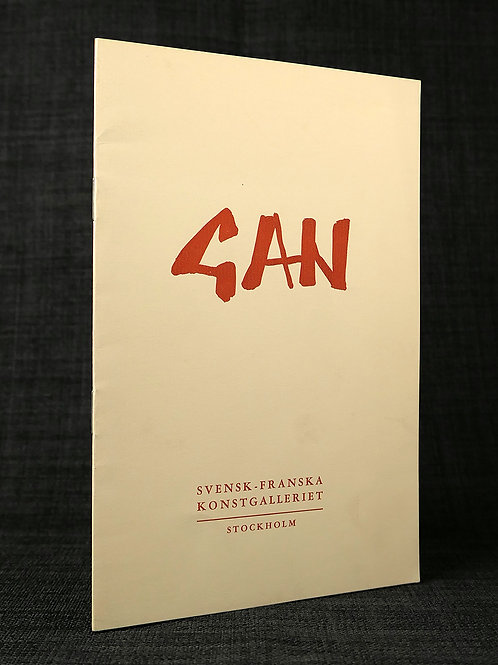 GAN - Retrospektiv utställning 1913-1953