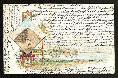 Selma Lagerlöf (1858–1940): Egenhändigt brevkort