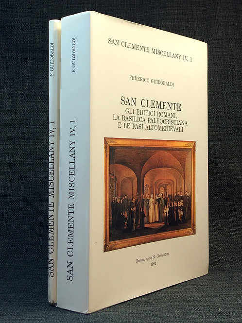 Guidobaldi Edifici romani Basilica di San Clemente 1992