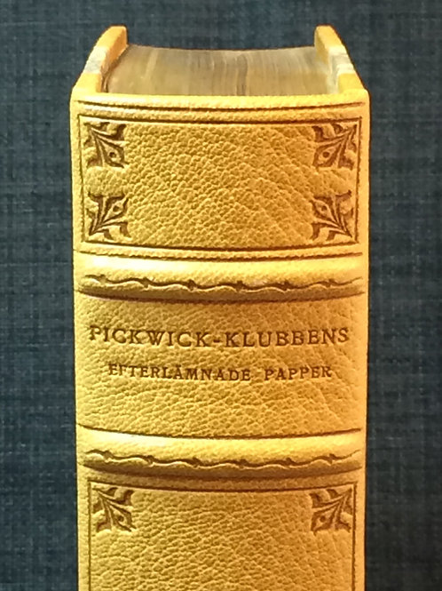Dickens: Pickwick-klubben, band av Linde