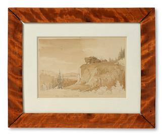 Joseph Magnus Stäck (1812-1868) - Vue i Wermland (Värmland), 1841 - (sold)