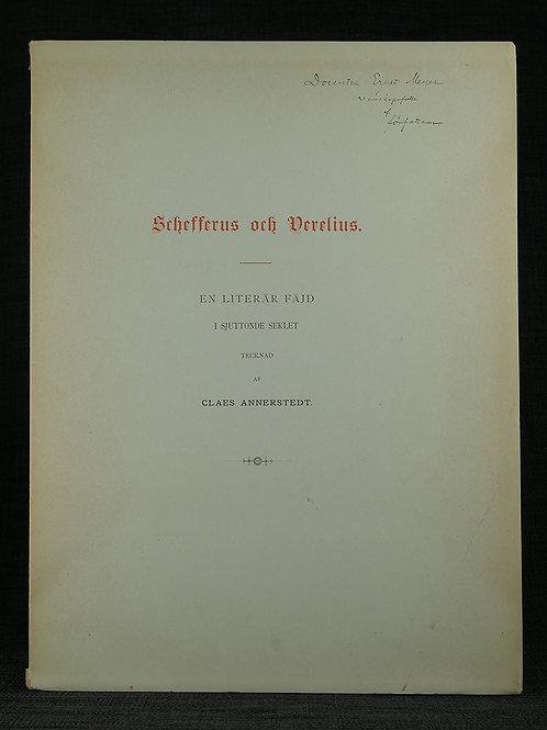 Annerstedt: Schefferus och Verelius