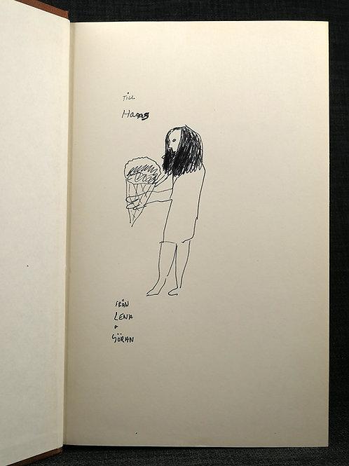 Ritad dedikation av Lena Cronqvist