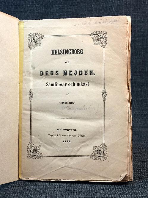 Helsingborg och dess nejder, 1851