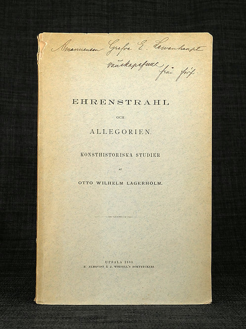 Lagerholm: Ehrenstrahl och allegorien