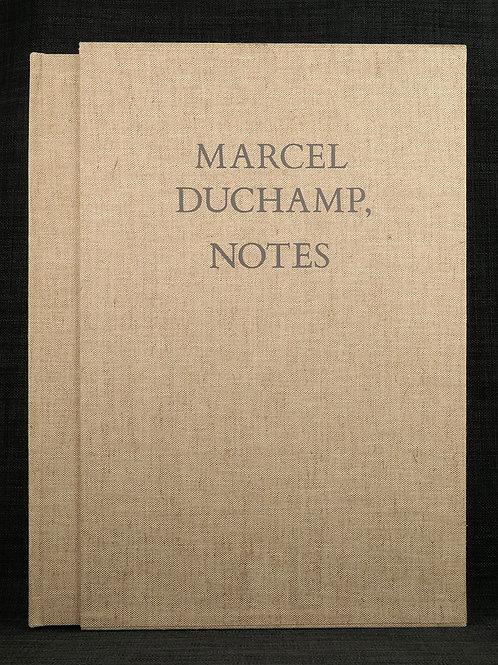 Marcel Duchamp: Notes