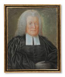 Okänd konstnär - Ärkebiskop Johan Magnus Beronius (1692-1775) - (sold)