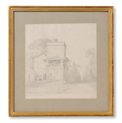 Uno Troili (1815-1875) - Casino di Raffaello. Villa Borghese, Rom - (sold)