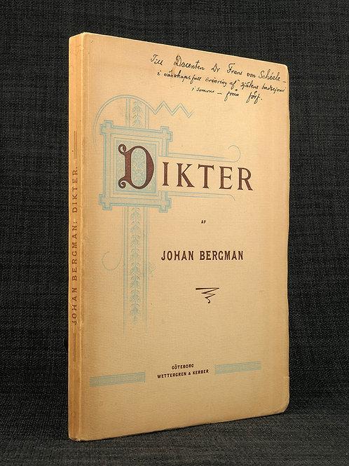 Johan Bergman: Dikter
