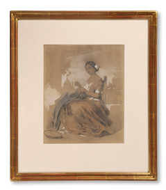 Egron Lundgren (1815–1875) - Concha. spanjorska som syr