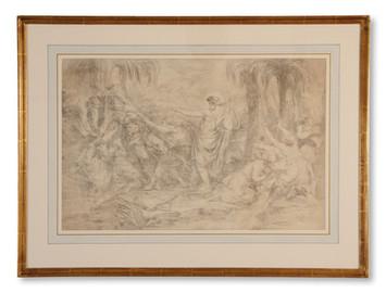 Louis Masreliez (1748–1810) - Apollo och Marsyas