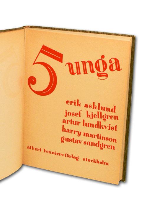 Fem unga - Exceptionellt exemplar