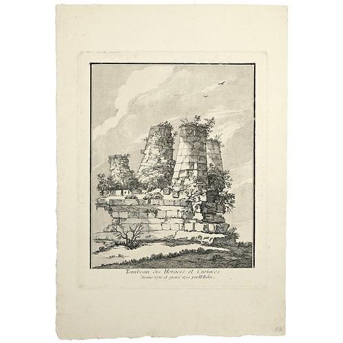 Jean Eric Rehn: Horatiernas och Curiatiernas grav, Rom
